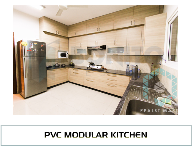 Modular Kitchen P V C Modular Kitchen Dealers Suppliers In Ahmedabad Gujarat India