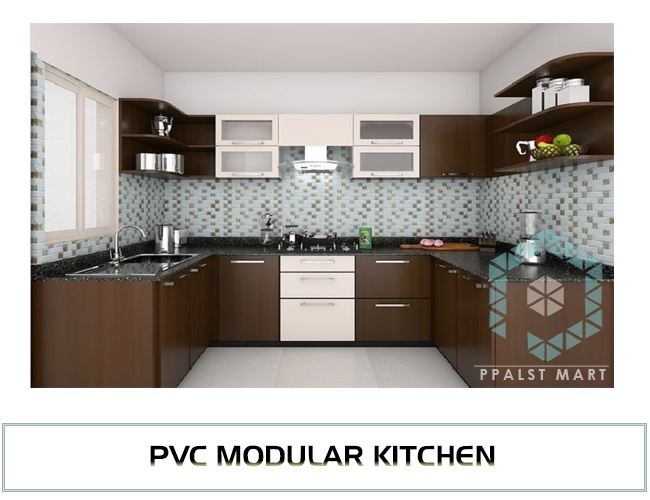 Modular Kitchen P V C Modular Kitchen Dealers